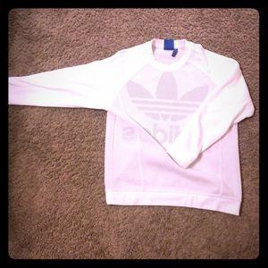 White Adidas shirt fashion original